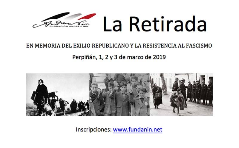 Cuaderno de viaje: «La Retirada». En memoria del exilio republicano y la resistencia al fascismo (Perpiñan, del 1 al 3 de marzo de 2019)