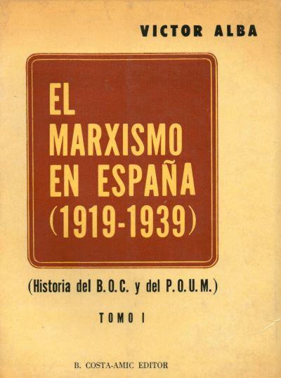 La Alianza Obrera (Víctor Alba, 1973)