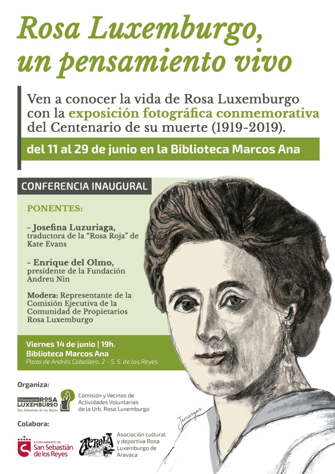 Homenaje a Rosa y a Karl. Enrique del Olmo. 2009